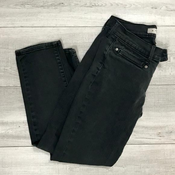 Old Navy Denim - 🔴 Old Navy   Black Cropped Skinny Jeans   Size 1
